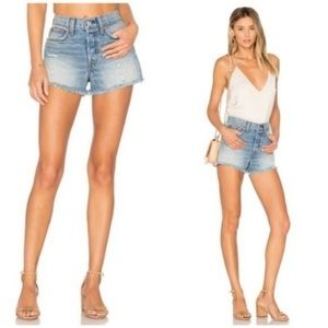 NWT Levi's High Rise Wedgie Fit Denim Shorts
